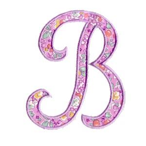 b letter designs