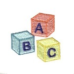 abc building blocks baby machine embroidery design