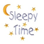 sleepy time lettering with moon and stars text night evening sleeping bed time bedtimemachine embroidery design baby toys kids children art pes hus dst