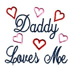 daddy loves me machine embroidery design mom and dad mum needle passion embroidery npe