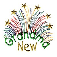 fireworks new grandma machine embroidery grandparent embroidery art pes hus dst needle passion embroidery npe