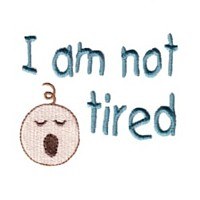 i am not tired baby face baby attitude machine embroidery design needle passion embroidery npe