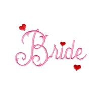 machine embroidery design bride script lettering wedding heart art pes hus dst needle passion embroidery npe