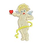 love cherub with heart angel machine embroidery free sample freebie design from http://www.needlepassionembroidery.com