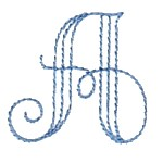 Margareta outline alphabet letters ABC machine embroidery design from http://www.needlepassionembroidery.com