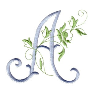 Alphabets & Vintage Monograms - machine embroidery designs