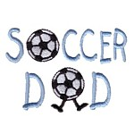 soccer dad lettering machine embroidery design mom and dad mum needle passion embroidery npe