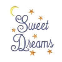 machine embroidery sweet dreams lettering script with stars and moon sleep sleeping night machine embroidery design art pes hus jef dst exp needle passion embroidery npe needlepassion