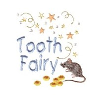 tooth fairy mouse and coins machine embroidery fairy dust girls magic stuff confetti lettering design art pes hus dst needle passion embroidery npe