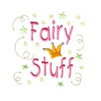 crown lettering confetti machine embroidery fairy dust girls magic stuff design art pes hus dst needle passion embroidery npe