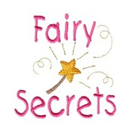 fairy secrets lettering with magic wand machine embroidery fairy dust girls magic stuff confetti lettering design art pes hus dst needle passion embroidery npe