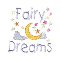 fairy dreams lettering machine embroidery fairy dust girls magic stuff confetti lettering design art pes hus dst needle passion embroidery npe