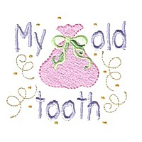 my old tooth lettering sack confetti machine embroidery fairy dust girls magic stuff confetti lettering design art pes hus dst needle passion embroidery npe