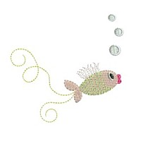 fish air bubbles under water machine embroidery design swirl swirly trail tail swirls needle passion embroidery needlepassion npe bernina artista art pes hus jef dst designs