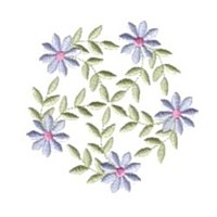 machine embroidery design daisy daisies flower embroidery machine embroidery design npe