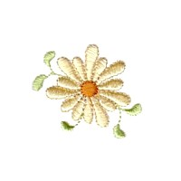 daisy flower floral npe needlepassion needle passion embroidery machine embroidery design designs