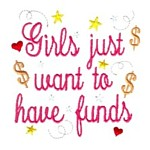 girls just want to have funds lettering machine embroidery design girl girls rule diva girly queen crown confetti lettering text slogan art pes hus dst needle passion embroidery npe