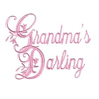 grandma's darling machine embroidery grandparent embroidery art pes hus dst needle passion embroidery npe