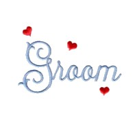 machine embroidery design groom script lettering love wedding heart party art pes hus dst needle passion embroidery npe