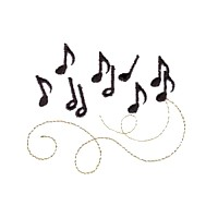 musical notes whimsical machine embroidery design swirl swirly trail tail swirls needle passion embroidery needlepassion npe bernina artista art pes hus jef dst designs
