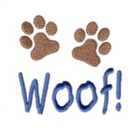 woof paws dog machine embroidery design pet doggy paws needle passion embroidery npe