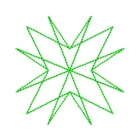 star quilting in the embroidery hoop machine embroidery quilt design