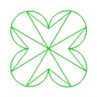 star quilting in the embroidery hoop machine embroidery quilt pattern design