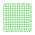 square grid quilting in the embroidery hoop machine embroidery quilt design