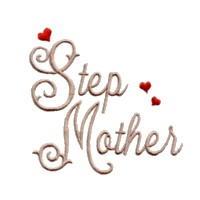 step mother script lettering machine embroidery design love wedding heart party relative art pes hus dst needle passion embroidery npe