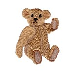 Steiff Teddy machine embroidery design from http://www.needlepassionembroidery.com