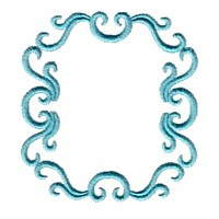 embroidery design machine embroidery victorian scroll frame border design