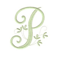 machine embroidery design vintage monogram alphabet p art pes hus jef dst exp needle passion embroidery npe needlepassion