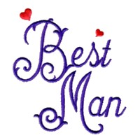 best man script lettering machine embroidery design wedding heart party art pes hus dst needle passion embroidery npe