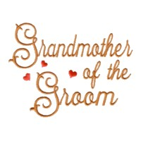 grandmother of the groom scrip lettering machine embroidery design love wedding heart party relative grandparent art pes hus dst needle passion embroidery npe